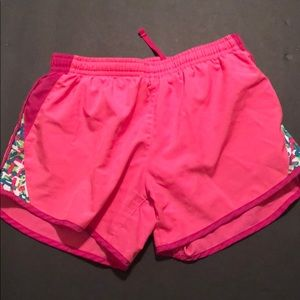 Nike shorts with a lining